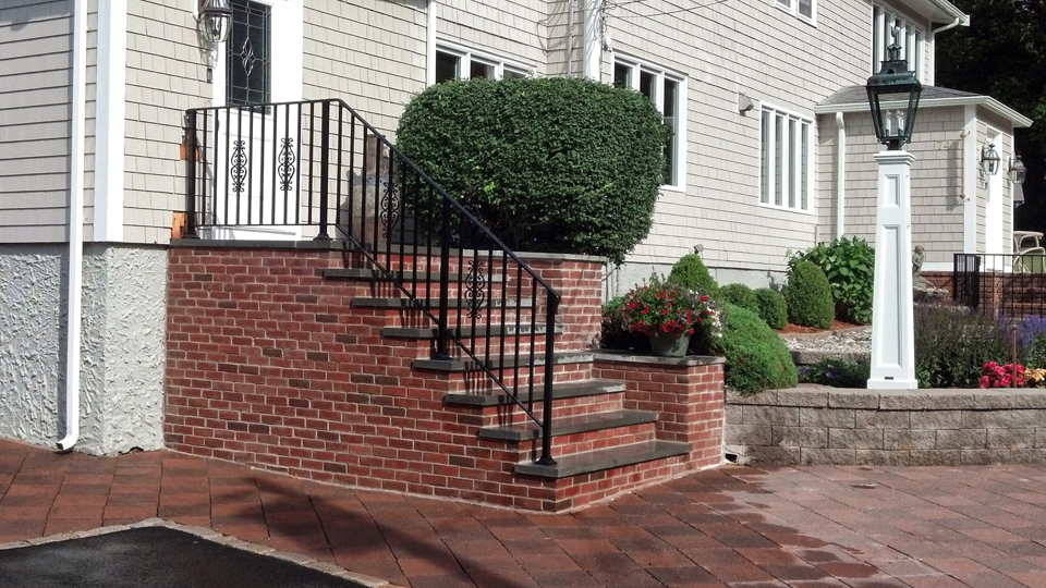 Wrought Iron Railings, MA, RI, Custom Iron Hand Rails, Ornamental ...