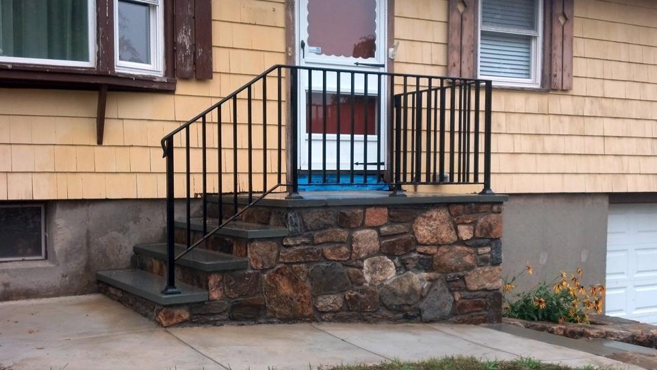 Wrought Iron Railings, MA, RI, Custom Iron Hand Rails, Ornamental ...